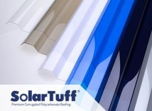 Warna Solartuff Greca - Blue, Bronze, Opal, Clear, Grey