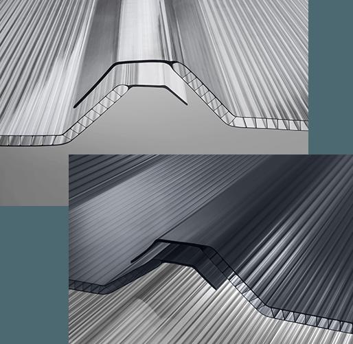 atap polycarbonate gelombang twinlite greca