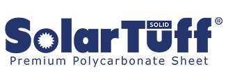 Logo SolarTuff Solid - Premium Corrugated Polycarbonate Roofing