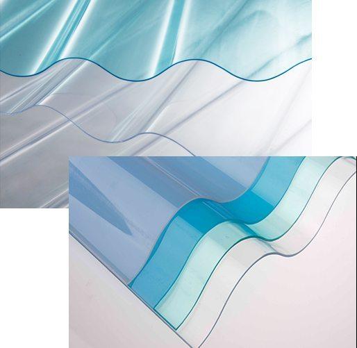 Lasercool Premium Corrugated Vinyl Roofing