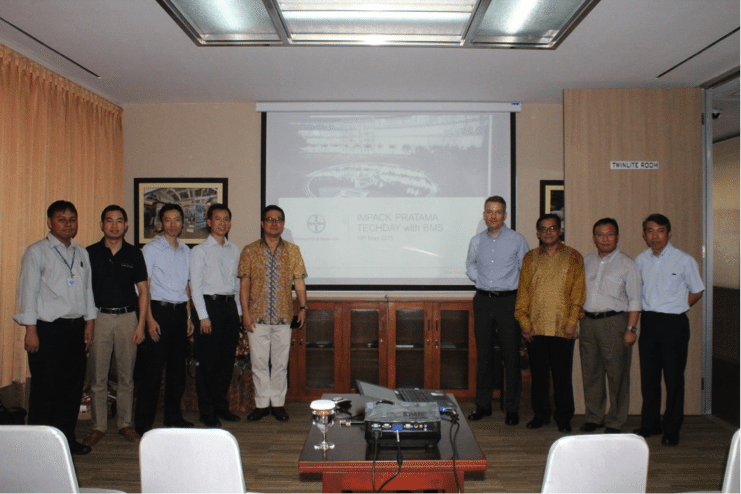 Impack Pratama Techday with BMS - May 2015