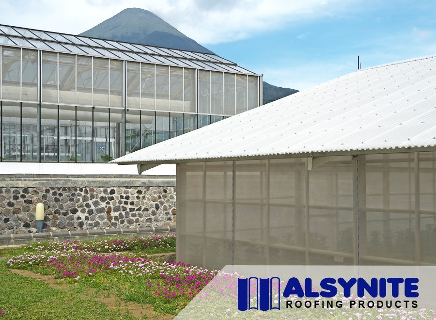 alsynite atap green house