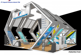 Layout Booth Indobuildtech IBT PT Impack Pratama Industri Tbk May 2018