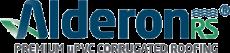 Alderon Logo Premium uPVC Corrugated Roofing