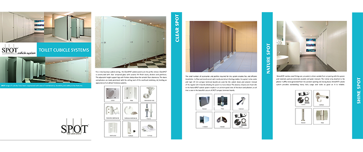 SPOT Toilet Cubicle Systems