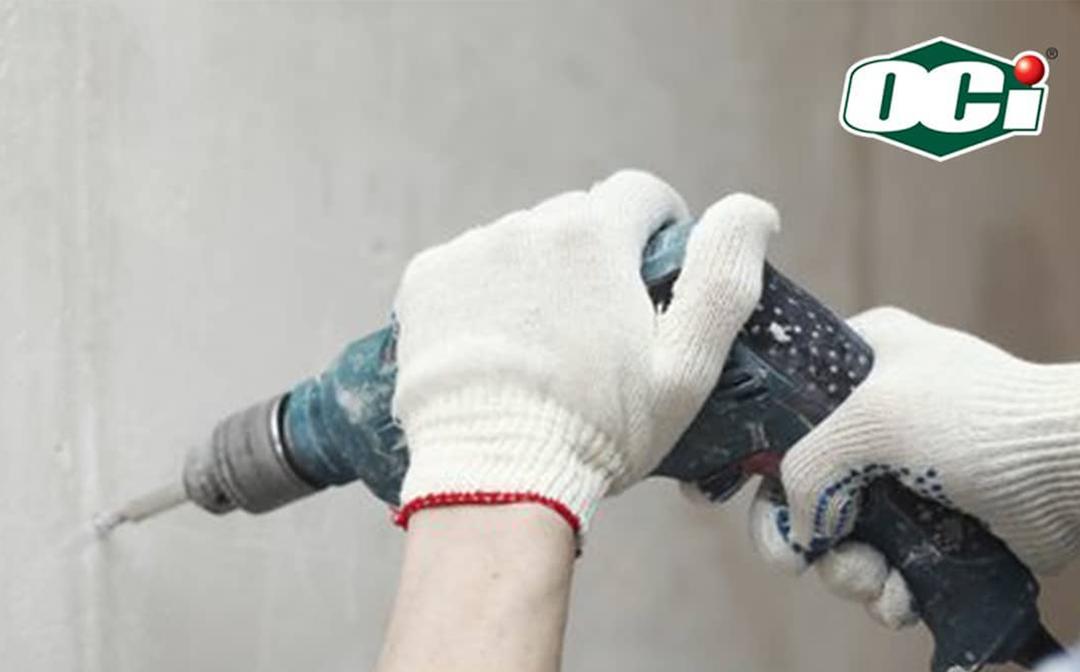 Cara Mencegah Pipa Bocor - Bongkar dinding dengan bor