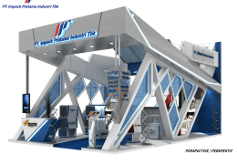 Booth Megabuild 2019 PT Impack Pratama Industri Tbk JCC Hall B, B-E2