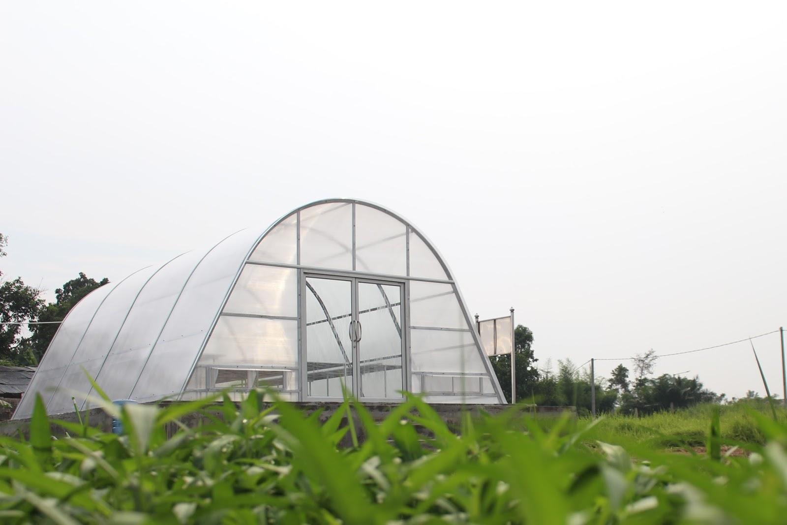 solar dryer dome Javara - Bekasi