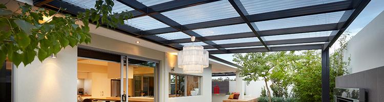 Kanopi Atap Skylight Transparan SolarTuff