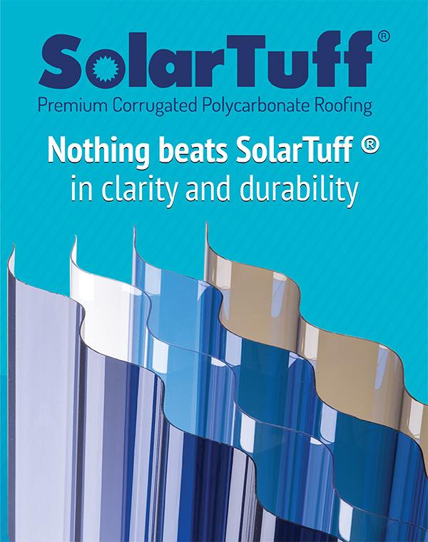 Solartuff Premium Polycarbonate Roofing Sheet Pt