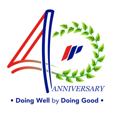 logo impack hut 40th anniv