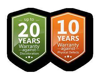 alcotuff warranty garansi 20 tahun perubahan warna