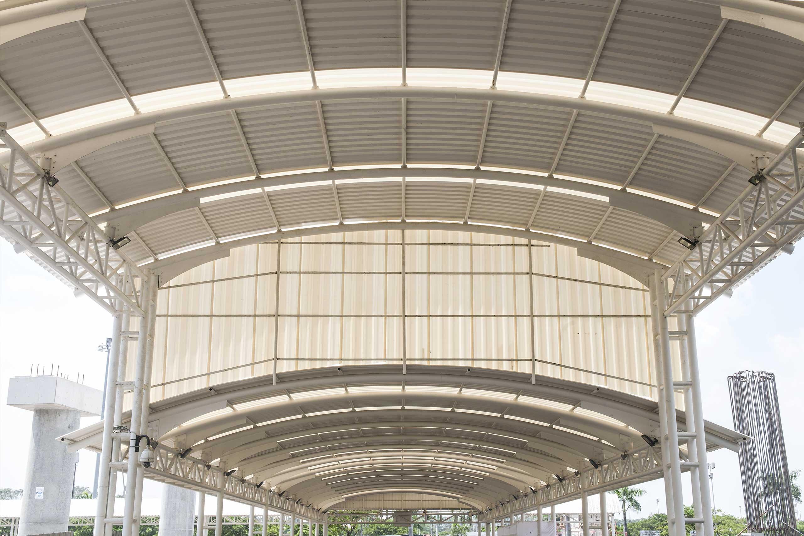 alderon kanopi atap upvc doff semi transparan bening terbaik