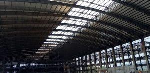 alsynite ultra cool atap skylight gudang pabrik