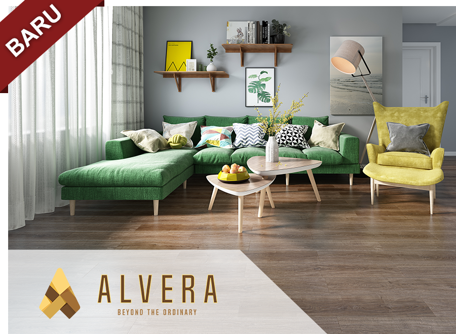 alvera lantai vinyl motif kayu vinyl flooring