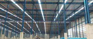 atap gudang skylight menggunakan alsynite xrp lite