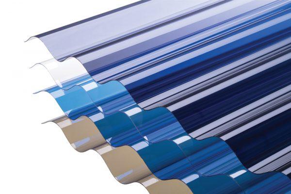 atap plastik transparan polycarbonate solartuff