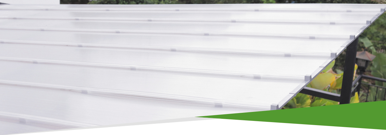 atap polycarbonate minimalis bening ezlock anti bocor tanpa baut