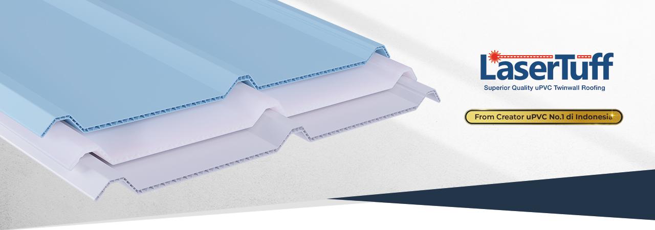 atap rumah kanopi minimalis upvc lasertuff alternatif alderon