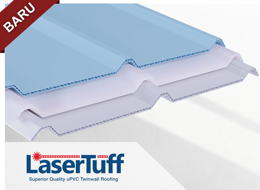 atap rumah kanopi upvc termurah terbaru lasertuff