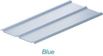 atap upvc lasertuff warna biru blue