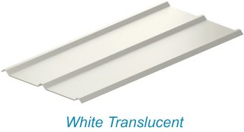 atap upvc lasertuff warna putih semi transparan white translucent