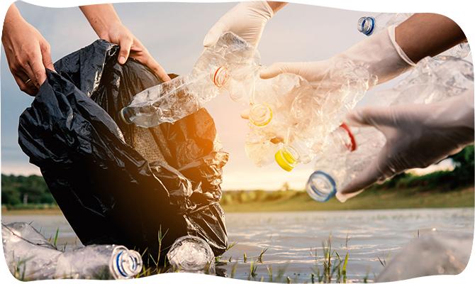 botol plastik didaur ulang menjadi atap kanopi ramah lingkungan