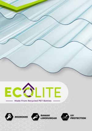 brosur ecolite atap ramah lingkungan