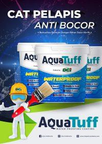 brosur flyer aquatuff cat pelapis anti bocor
