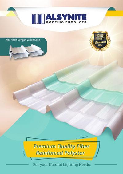 Alsynite Premium Quality Fiber Reinforced Polyester Frp Pt Impack Pratama Industri Tbk
