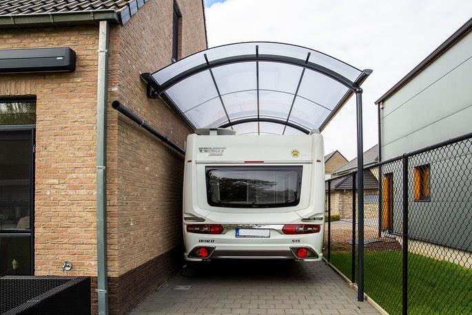 carport canopy samping rumah