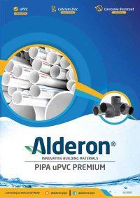 cover brochure alderon pipe