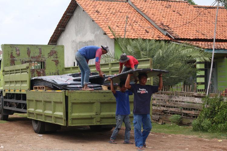 donasi impack pratama alderon rs untuk pelestarian elang bondol