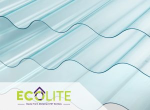 eco friendly product roofing from pet bottle ecolite