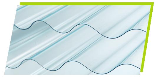ecolite atap transparan terbuat dari botol plastik pet