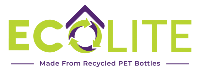 ecolite logo made from recycled pet bottles