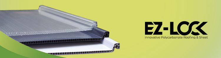 ez-lock atap rumah transparan minimalis