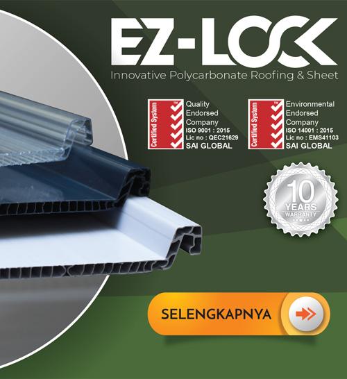 EZ-Lock Innovative Polycarbonate Roofing & Sheet