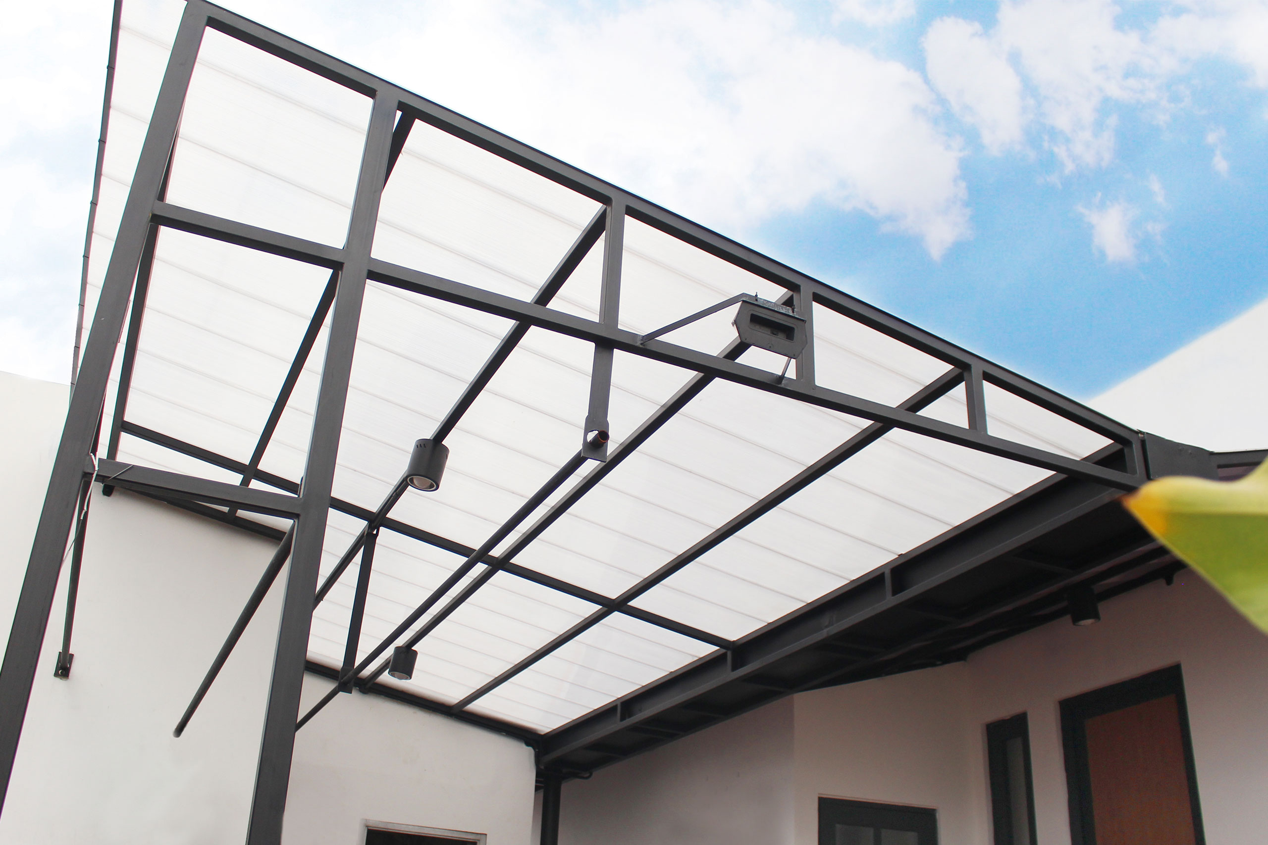ezlock atap kanopi minimalis pasangnya praktis atap jemuran tyas mirasih
