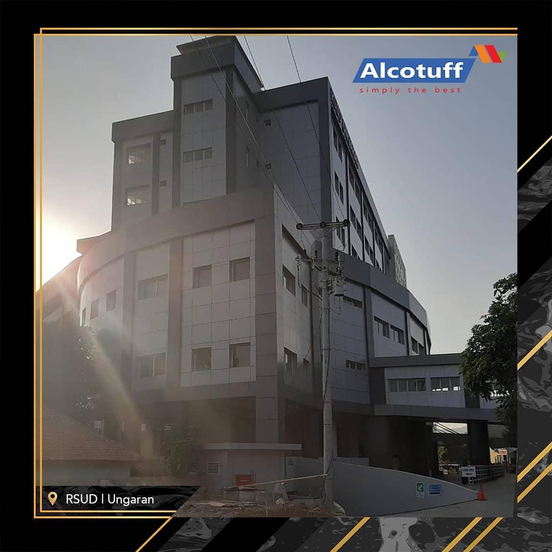 fasade bangunan acp aluminium composite alcotuff