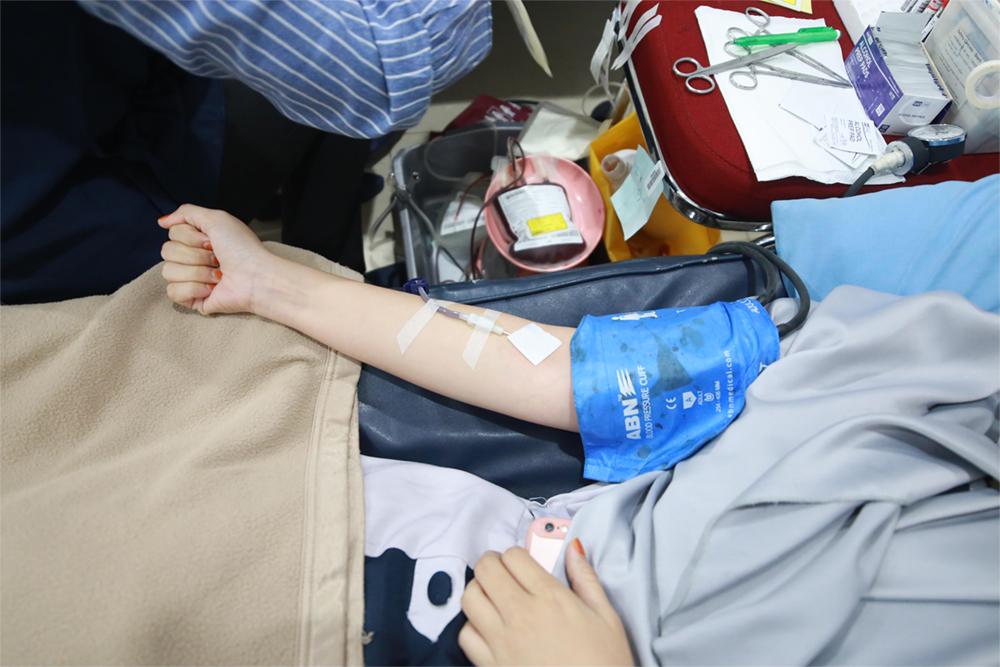 kegiatan donor darah pt impack pratama industri