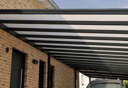 inspirasi atap kanopi minimalis kekinian