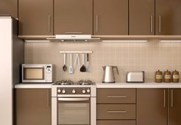 inspirasi gambar kitchen set aluminium composite panel