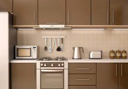 inspirasi gambar kitchen set aluminium composite panel