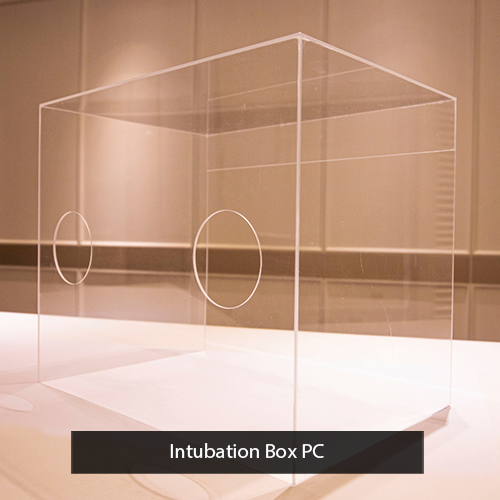 intubation box polycarbonate