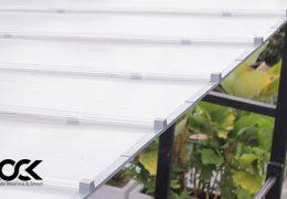 polycarbonate kanopi minimalis transparan ezlock