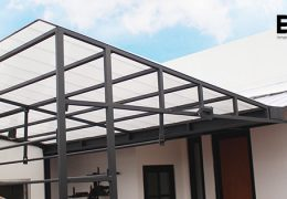 kanopi teras ez-lock polycarbonate
