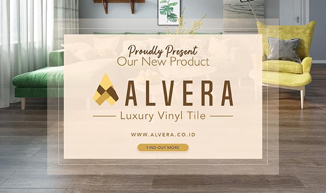 lantai vinyl alvera popup banner