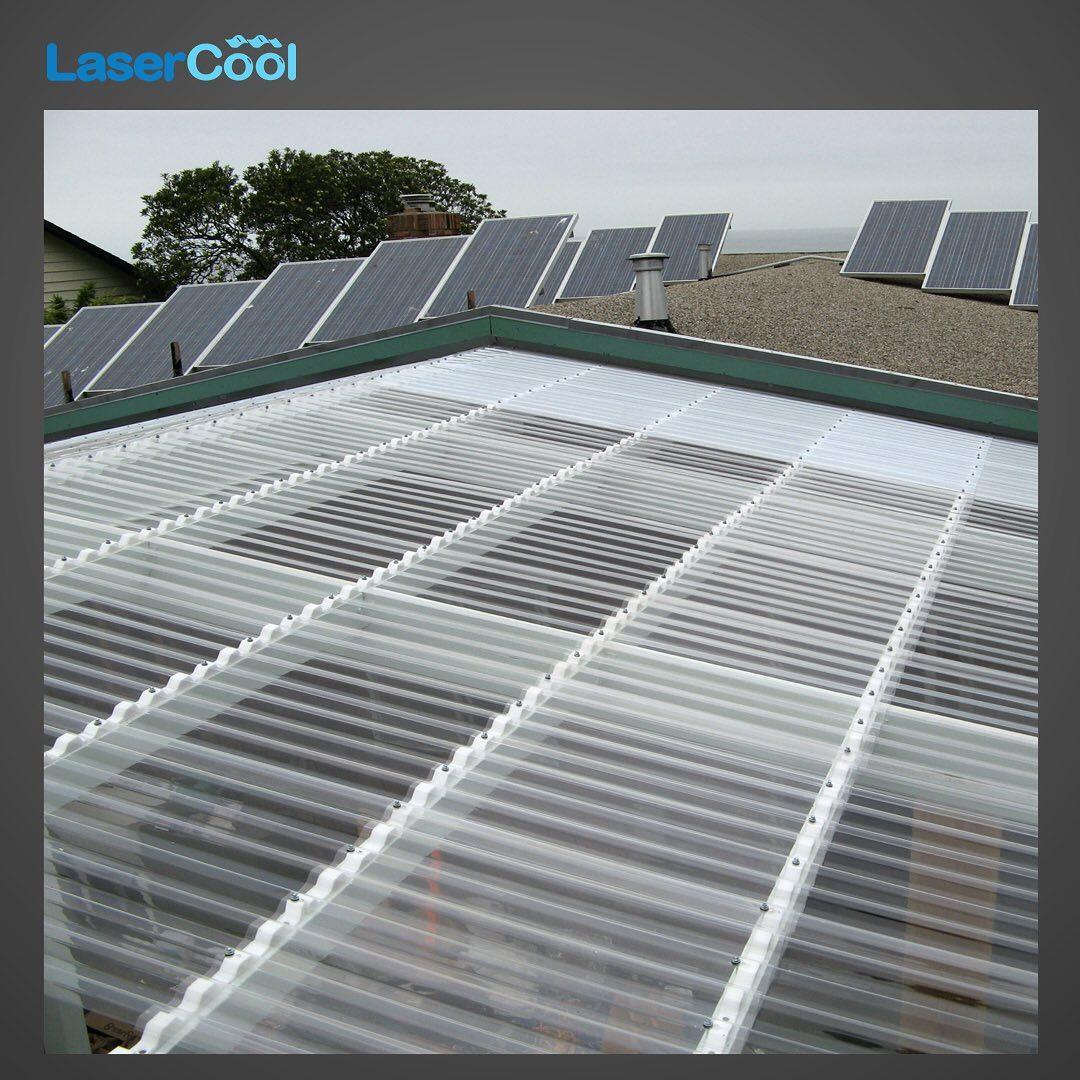 LaserCool Atap Bening Tembus Pandang Hemat Energi