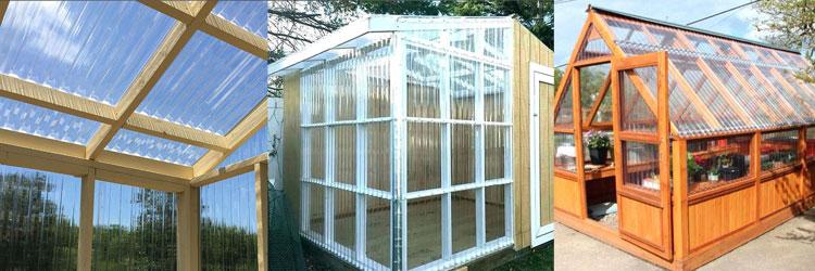 lasercool atap plastik gelombang bening green house